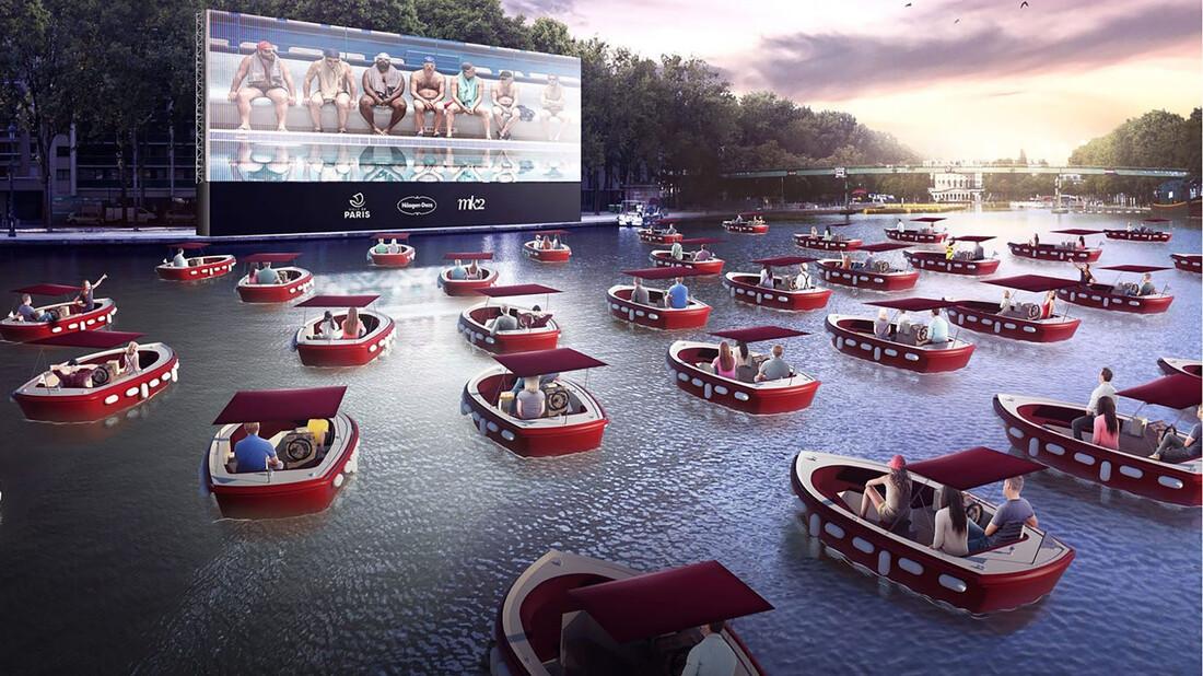Βαρκάδα και σινεμά; Έρχεται στο Παρίσι