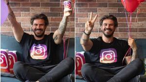 Άκης Πετρετζίκης: Έφτασε τους 1,5 εκατ. followers στο Instagram και το γιορτάζει!