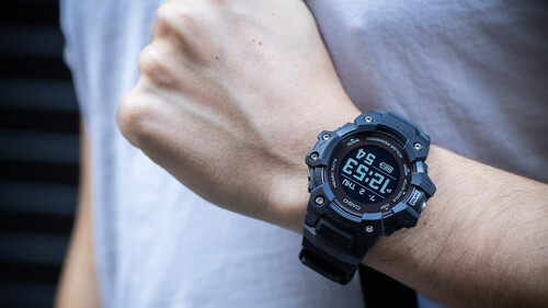 To ρολόι της G-Shock είναι αποκλειστικά φτιαγμένο για τρέξιμο