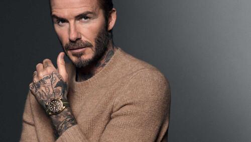 Το ρολόι του David Beckham είναι για τους άντρες που έχουν στυλ