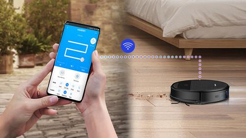 Η ηλεκτρική σκούπα ρομπότ VR5000RM της Samsung σκουπίζει και σφουγγαρίζει, ακόμα και όταν λείπετε