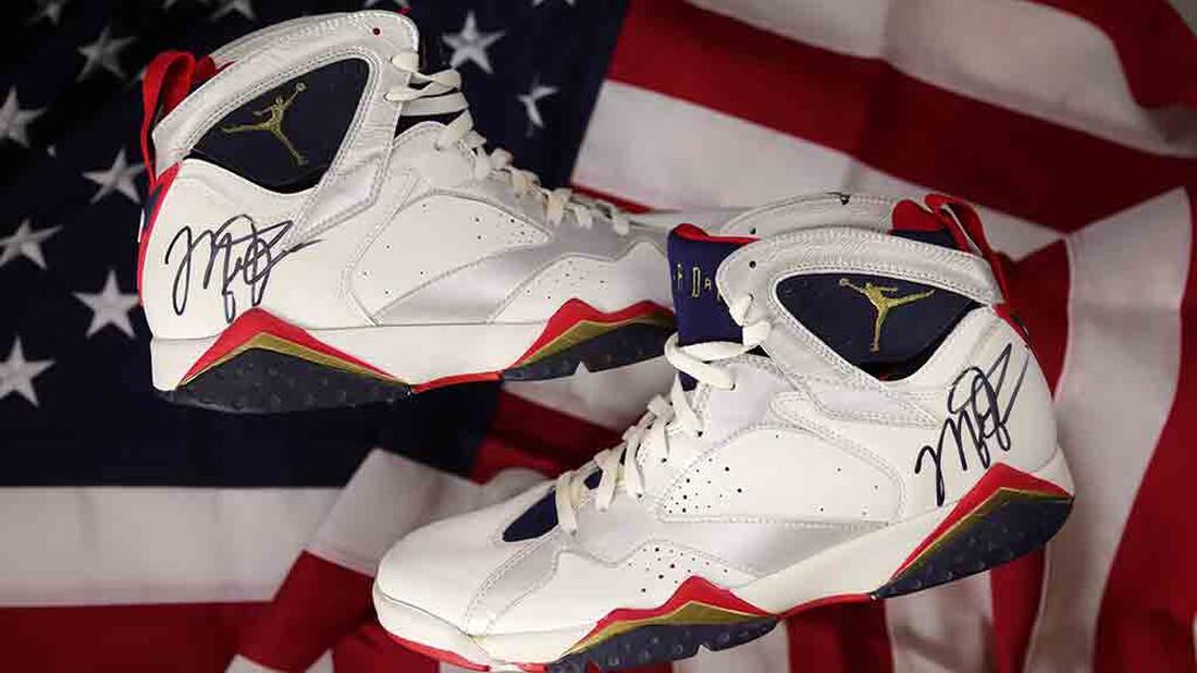 Πόσο έπιασαν τα παπούτσια του Michael Jordan στους Ολυμπιακούς του '92