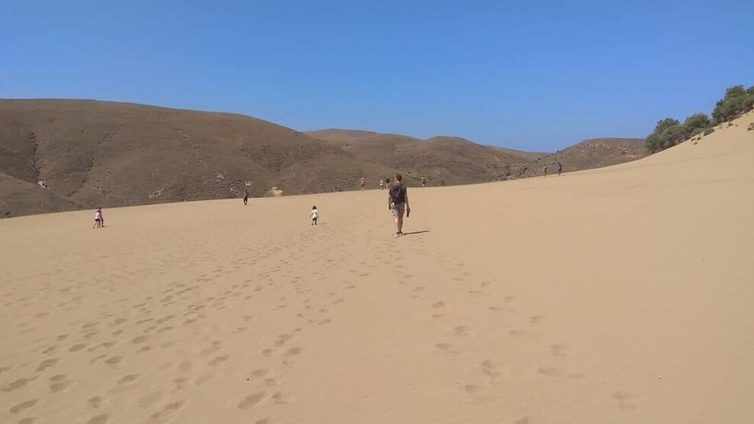 Αμμοθίνες: Μία έρημος στην Ελλάδα