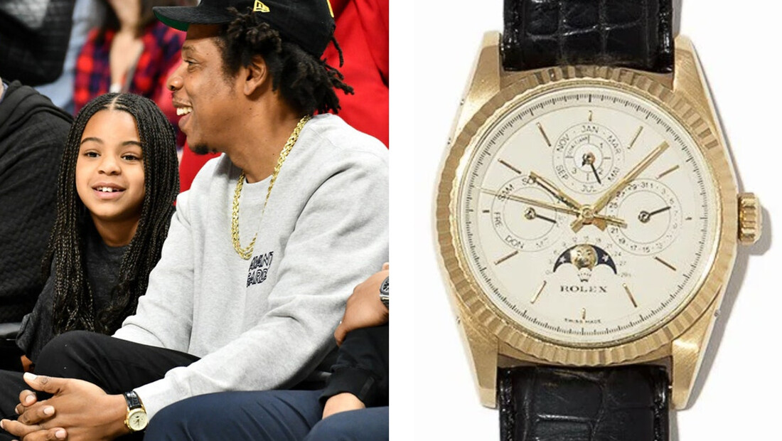 Ο Jay Z δεν βλέπει την ώρα για ρίμες μ' αυτό το Rolex