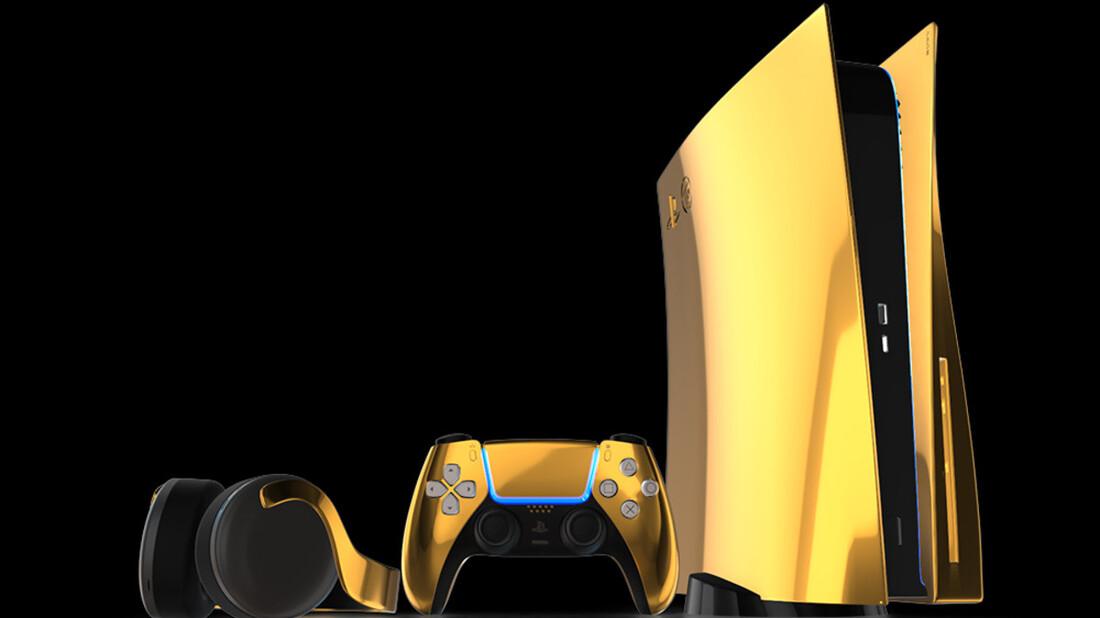 Τα όνειρά μας φτιαγμένα από χρυσό, όπως και αυτό το Playstation 5