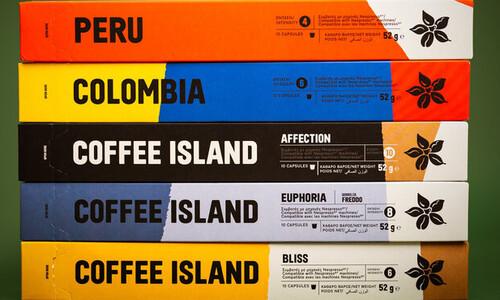 Η Coffee Island μας παρουσιάζει τις νέες κάψουλες espresso