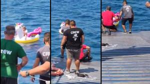 Σοκ: Σώθηκε παιδάκι που είχε παρασυρθεί από το ρεύμα της θάλασσας