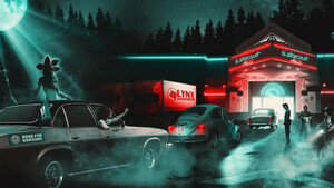 To drive-in από το Stranger Things παίρνει σάρκα και οστά μπροστά σου