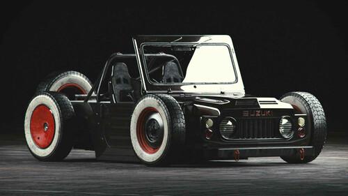 Ένα Suzuki Jimny για να παίζεις στην αυλή σου