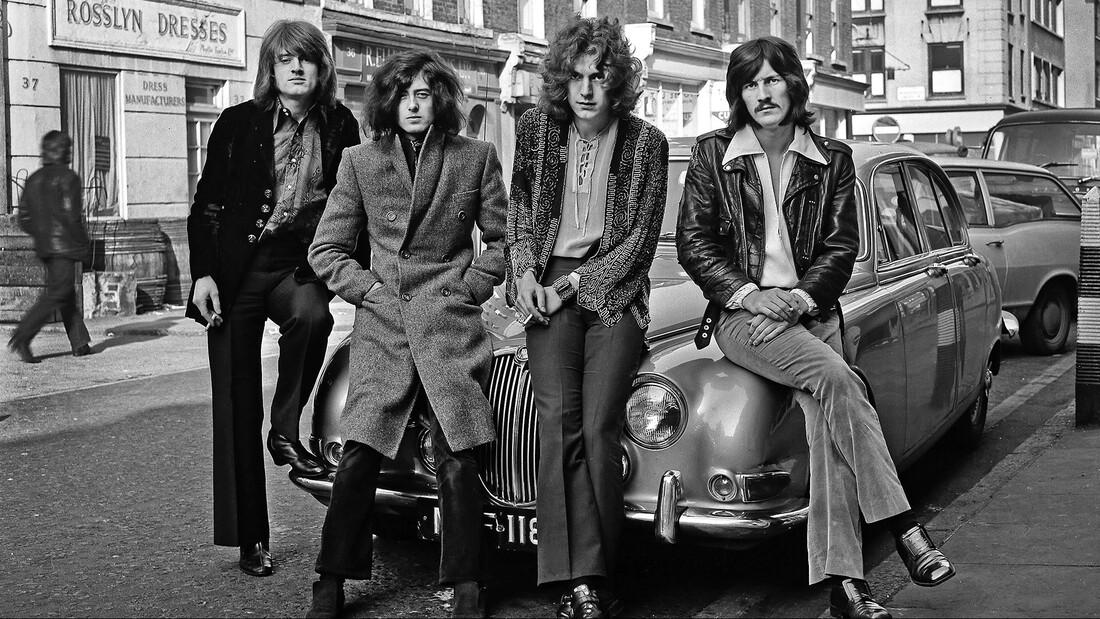 Οι Led Zeppelin στη συλλογή τους από μηχανοκίνητα είχαν μέχρι και Boeing