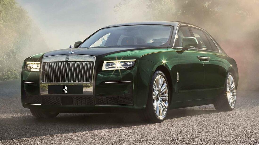 Η Rolls-Royce Ghost αγγίζει το τέλειο