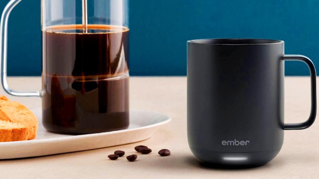 Με την κούπα της Ember θα πίνεις όλη μέρα ζεστό καφέ