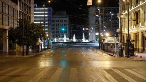 Η εκκωφαντική ησυχία πάνω από την πόλη