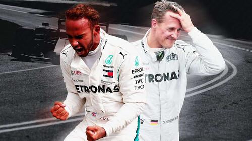 Είναι ο Lewis Hamilton ό,τι πιο κοντινό στον Michael Schumacher;