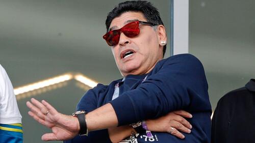 Τα 4 καθημερινά πρόσωπα του Diego Maradona