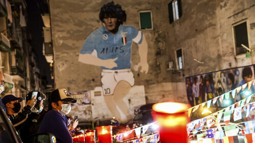 O Maradona δεν έφυγε ποτέ από τη Νάπολη