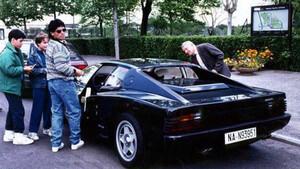H ιστορία της μαύρης Ferrari Testarossa του Maradona