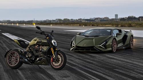 Ducati και Lamborghini ενώνουν τις δυνάμεις τους για κάτι ξεχωριστό