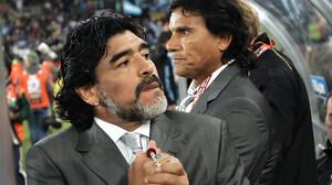Όταν ο Diego δεν ντρίμπλαρε, έπιανε «φωτιά» το στόμα του