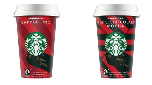 Τα αγαπημένα ροφήματα on the go των Starbucks White Chocolate Mocha & Cappuccino