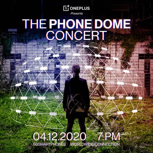 Μια εικονική συναυλία που φιλοξενείται σε πραγματικό Igloo, κατασκευασμένο από τηλέφωνα OnePlus