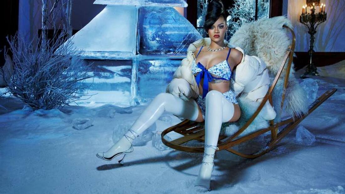 Η Rihanna σε ρόλο Ice Queen είναι ό,τι πιο ζεστό έχουμε δει