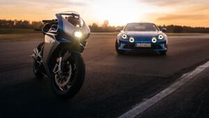 Γαλλική φινέτσα με ιταλικό πάθος συνδυάζει η νέα MV Agusta Superveloce Alpine