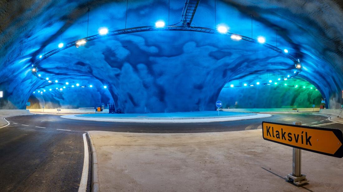 Ένα τούνελ στα νησιά Φερόε μοιάζει να σχεδιάστηκε από τον Ιούλιο Βερν