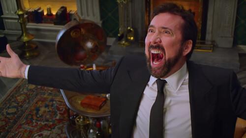 Η ελληνική μετάφραση θα τα βρει «σκούρα» στη σειρά του Nicolas Cage