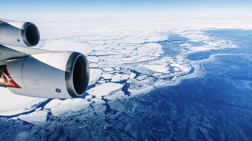 Οι μόνες πτήσεις που έμειναν με την πανδημία είναι για Ανταρκτική