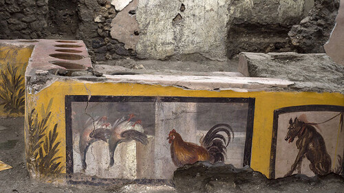 Σε αυτό το φαστφουντάδικο άραζαν οι αρχαίοι