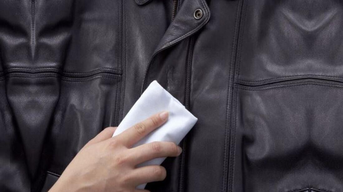 Πώς να βγάλεις του λεκέδες από το δερμάτινο μπουφάν σου
