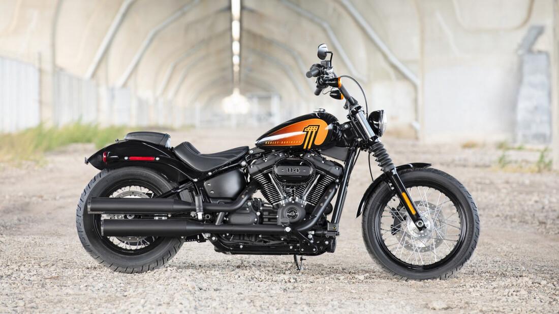 Περισσότερα κυβικά έφερε το 2021 για το Street Bob της Harley Davidson