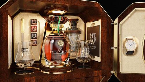 Το next-level whiskey ονομάζεται Emerald Isle και είναι ένα τέκνο της πολυτέλειας