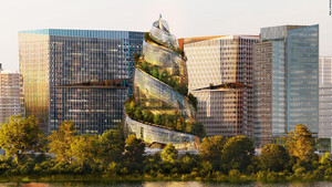 To HQ2 της Amazon θα είναι o πρώτος ουρανοξύστης με δάσος