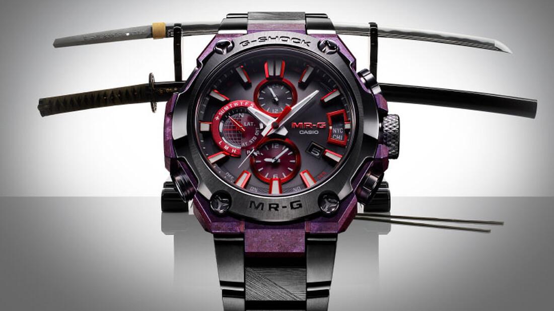 G-Shock Mr-G: Αν οι σαμουράι θα φόραγαν ένα ρολόι σίγουρα θα ήταν αυτό