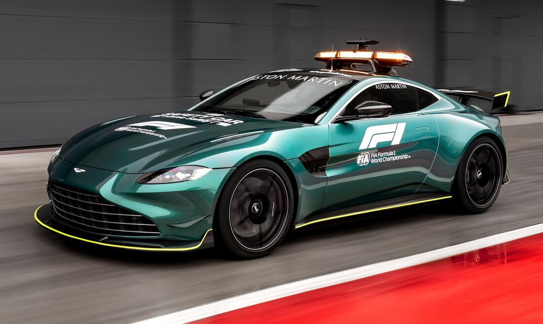 Formula 1: Το νέο αυτοκίνητο ασφαλείας θα είναι μια «φτιαγμένη» Aston Martin