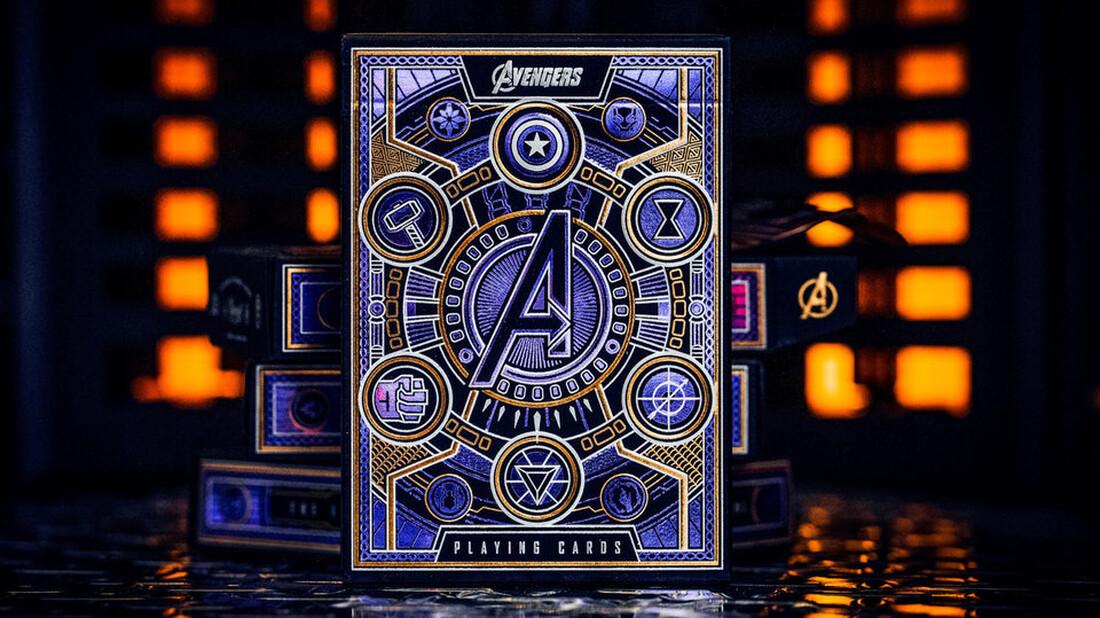 Η τράπουλα Avengers είναι για όσους νιώθουν ήρωες στο πόκερ