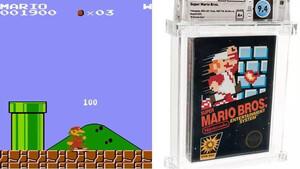 Super Mario Bros: Σπάνιο αντίτυπο από το 1985 πουλήθηκε σε απίστευτη τιμή
