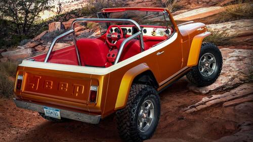To Jeepster Beach είναι ένα restomod SUV για τα ελληνικά νησιά
