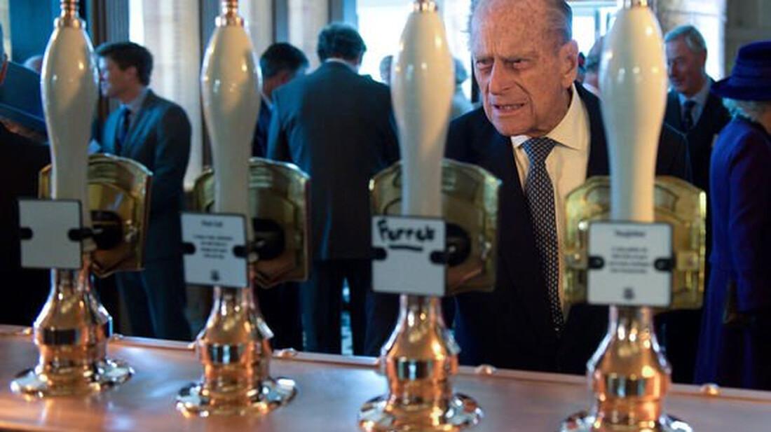 Η μπίρα ήταν πάντα στην καρδιά του πρίγκιπα Φίλιππου