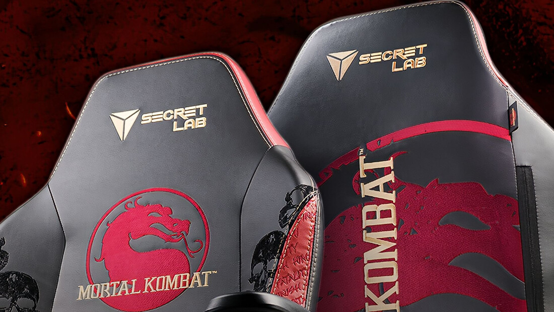 Mortal Kombat: Μια gaming καρέκλα για αναπαυτικά fatality