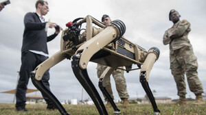 Σκύλοι ρομπότ υπόσχονται να βάλουν τέλος στα σκοπέτα