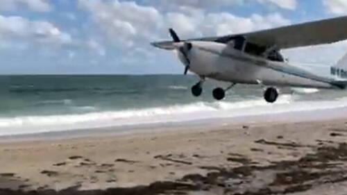 Έχεις δει ποτέ αεροπλάνο να προσγειώνεται σε παραλία;
