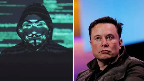 Οι Anonymous την λένε άσχημα στον Elon Musk και τον προειδοποιούν