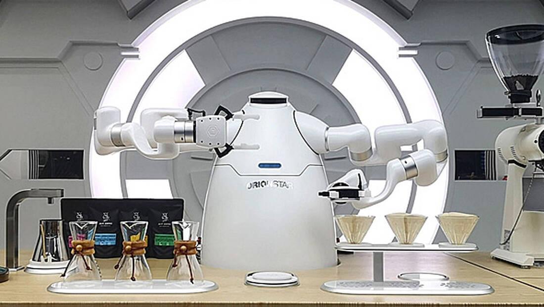 Ένα pομπότ barista μπορεί να σου φτιάξει πολύ καλύτερα τον καφέ σου