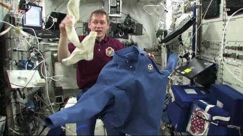 Και οι αστροναύτες έχουν πλέον δικό τους απορρυπαντικό