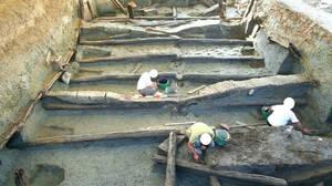 Ιταλία: Ανακάλυψαν αρχαία πισίνα φτιαγμένη από βελανιδιά 3.000 χρόνων