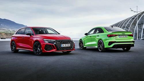 Το νέο Audi RS3 έχει 395 ίππους και drift mode