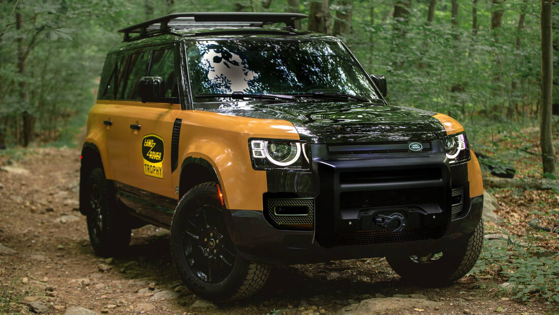 H Land Rover τιμά την περιπετειώδη κληρονομιά της με το Defender Trophy